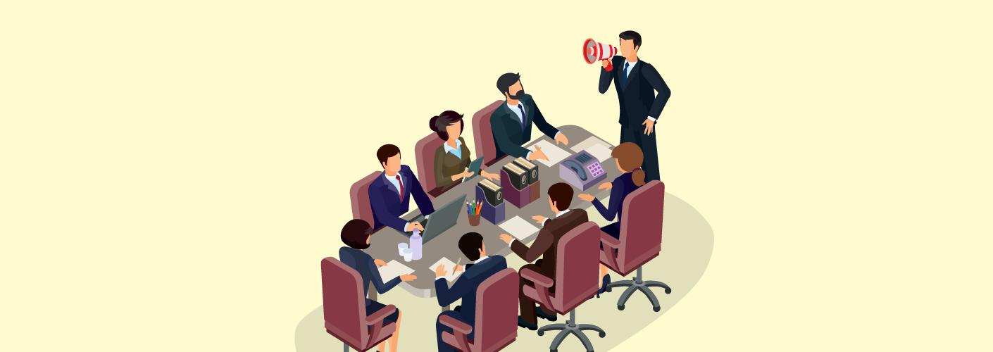 imagem de uma empresa realizando eventos corporativos