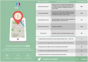 imagem representando o ebook Publicidade em aplicativos para eventos