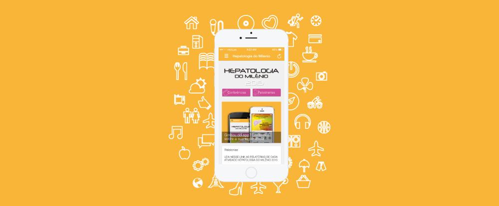 imagem do aplicativo do evento hepatologia do milenio congresso medico
