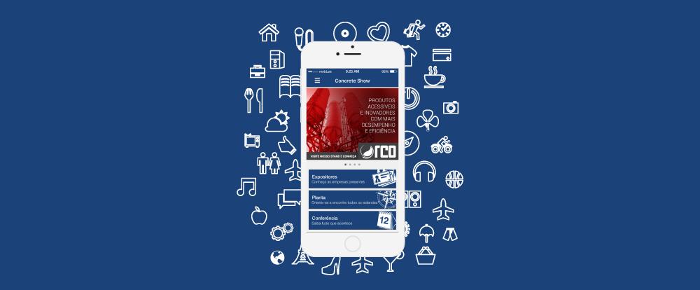 imagem do aplicativo do evento Concrete Show