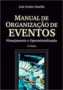 imagem do livro Manual de Organização de Eventos. Planejamento e Operacionalização