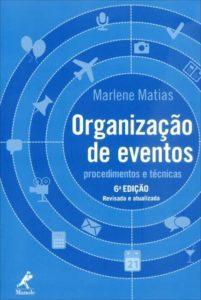 imagem do livro Organização de eventos- procedimentos e técnicas