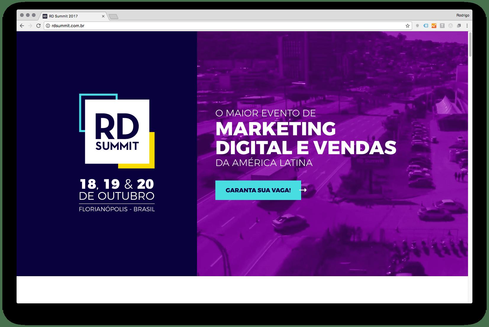 imagem do site do RD Summit