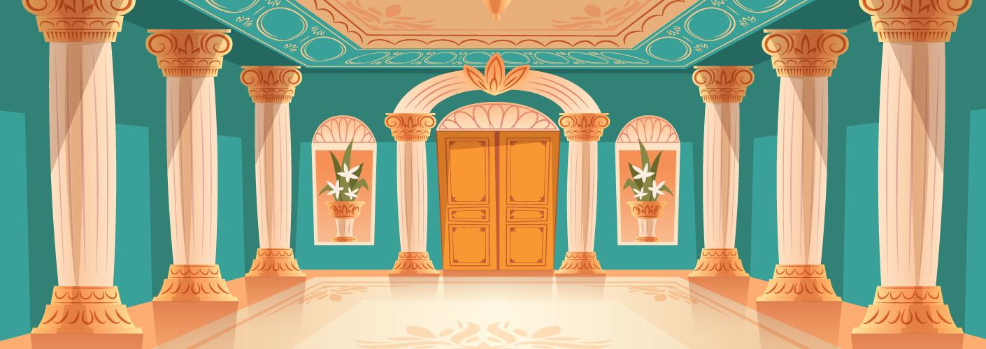 imagem de pilares representando os pilares do scrum