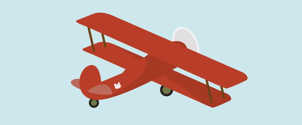imagem de um avião decolando representando a venda de ingressos