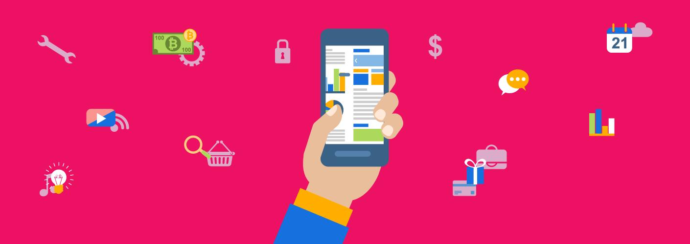imagem representando o futuro dos aplicativos para eventos em 2018 e 2019