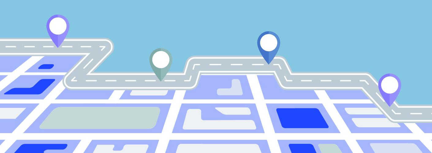 imagem representando uma cidade e seus pontos e espaços para eventos