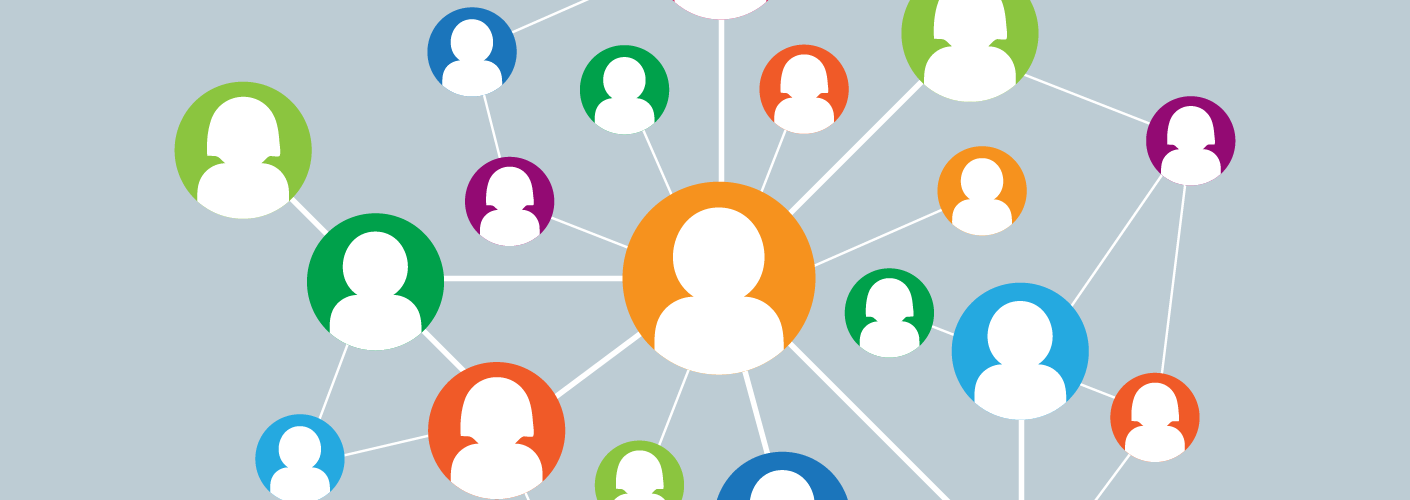 imagem de vários participantes conectando-se pelo networking e sendo engajados antes do evento começar