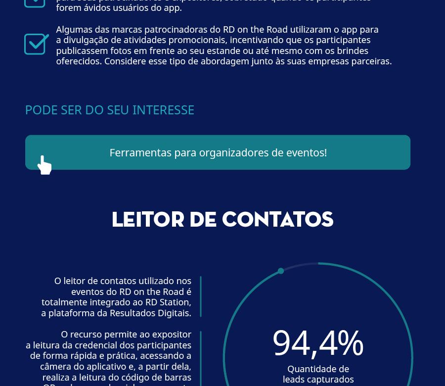 Infográfico do Estudo de Caso do RD on the Road 5