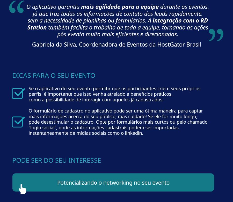 Infográfico do Estudo de Caso do RD on the Road 7