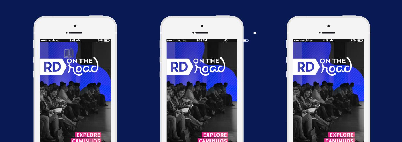 imagem do aplicativo usado no RD on the Road para gerar mais valor aos participantes e expositores do evento
