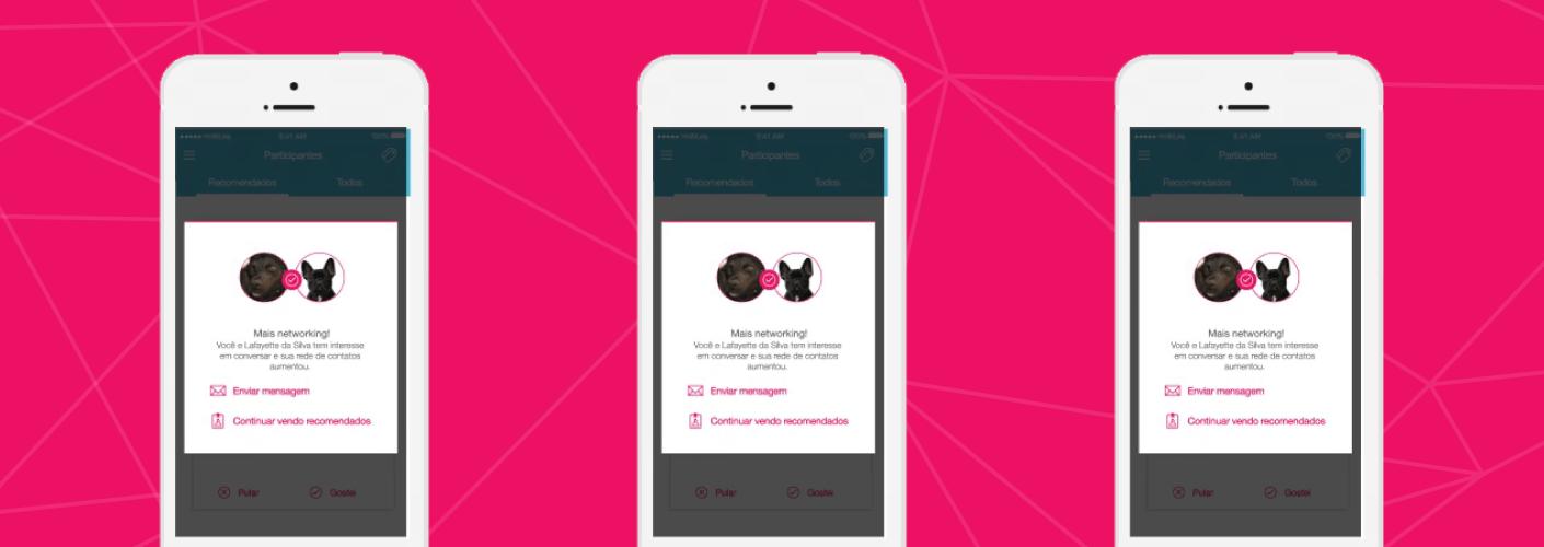 imagem do recurso do aplicativo da mobLee matchmanking ou tinder para eventos