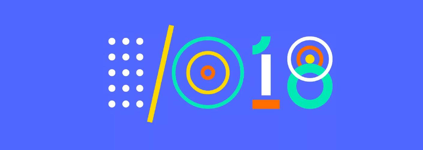 imagem do logo do Google IO de 2018