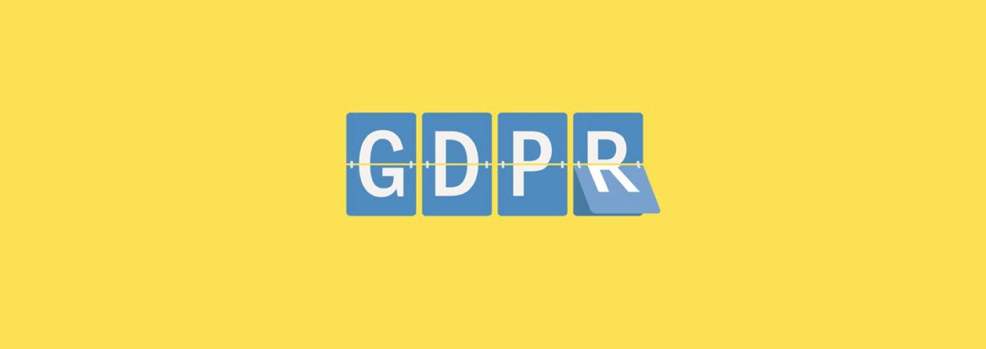imagem da sigla GDPR