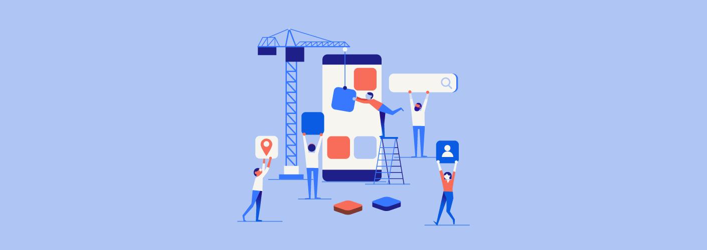 imagem representando os organizadores de eventos e participantes construindo as tecnologias para eventos