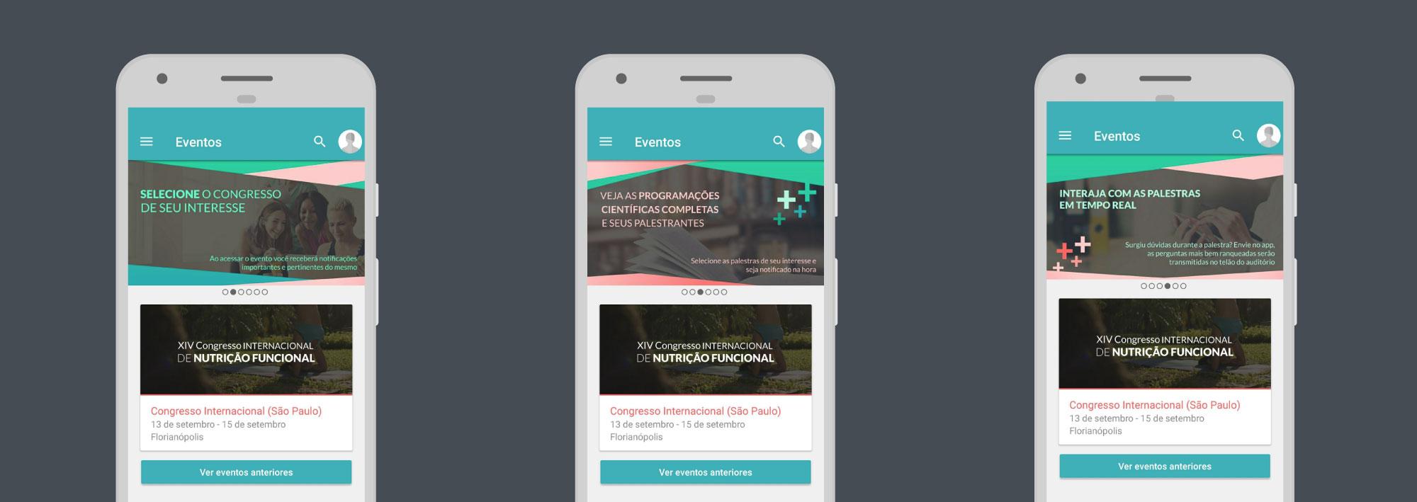 imagem representando o aplicativo utilizado pela VP Eventos