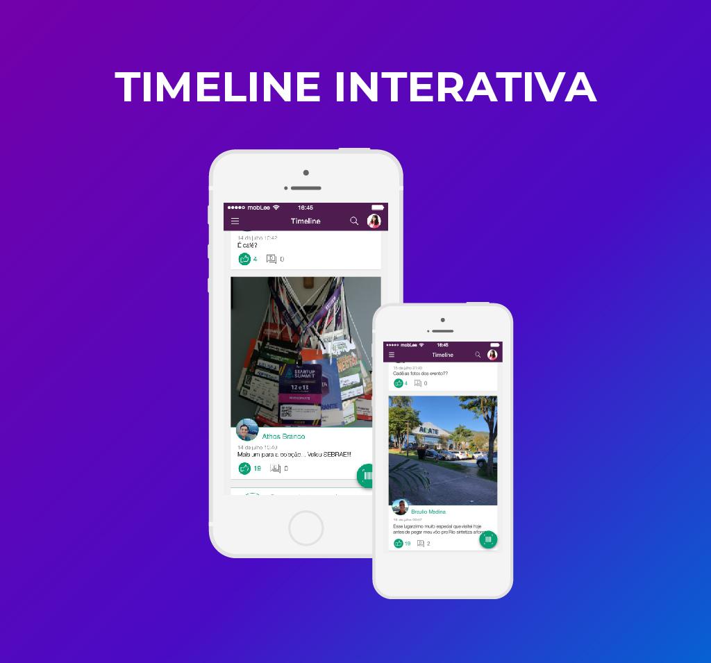 imagem da timeline interativa do app-100