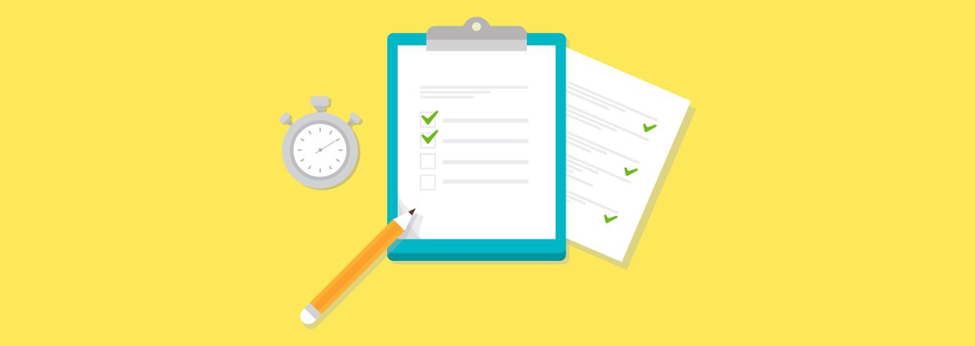 modelo de checklist com as perguntas para fazer antes do evento