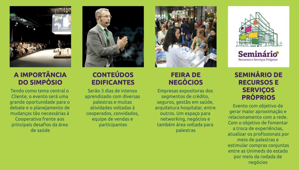 Detalhes do evento SUESC 2019 presentes no site de divulgação