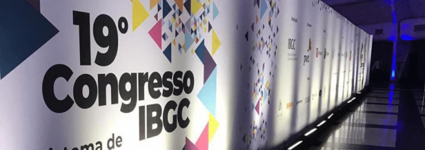 Área de entrada do décimo nono congresso IBGC