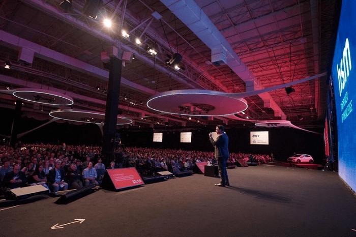 Foto do palco HSM Expo 2019