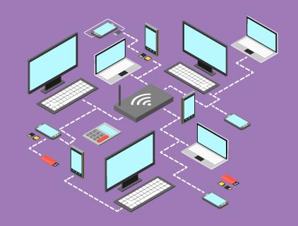 Estrutura de internet para eventos