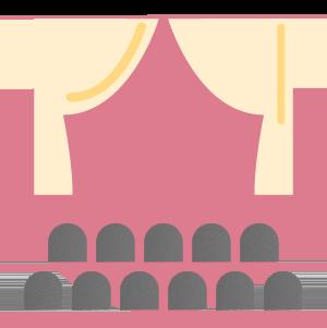 imagem representando feiras e eventos