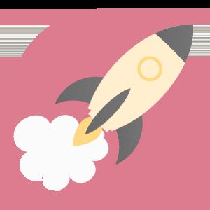 imagem representando um foguete