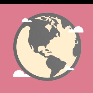 imagem representando o planeta terra