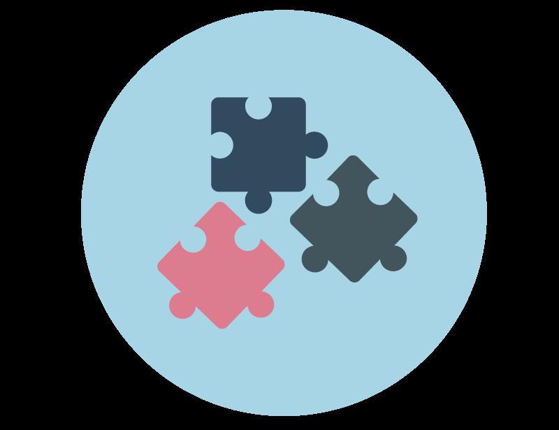 imagem representando um quebra-cabeça